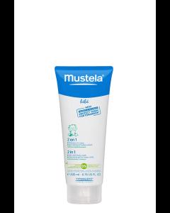 Mustela 2u1 šampon (gel) za pranje kose i tijela