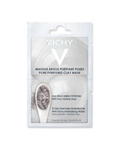 Vichy Maska siva za lice za masnu kožu 2x6 ml