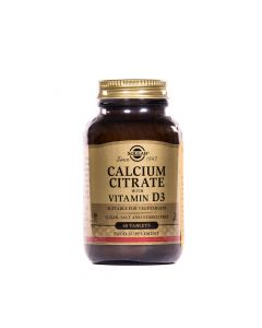 Solgar Kalcij citrat plus vitamin D 60 tableta