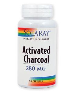 Solaray Activated Charcoal (Aktivni ugljen) 90 kapsula