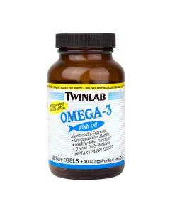 Twinlab Omega-3 riblje ulje 50 kapsula