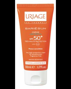 Uriage BARIESUN SPF50+ krema bez mirisa 50 ml