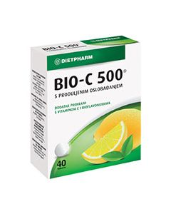 BIO-C 500 tablete s vremenskim otpuštanjem 40 komada