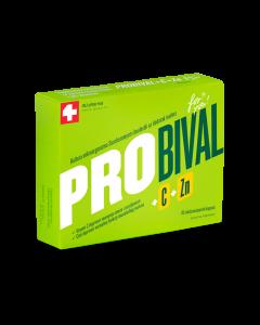 PROBIVAL+C+ZN CAPS A 10