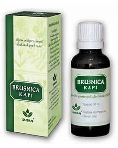 Suban Brusnica kapi 30 ml