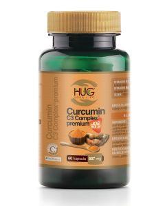 Hug Your Life CURCUMIN C3 COMPLEX PREMIUM 60 CAPS