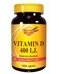 NW Vitamin D - 400 I.J. 100 tableta