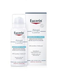Eucerin AtopiControl sprej za nadraženu kožu 50 ml