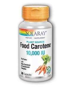 Solaray Food Carotene 10000 IU 30 kapsula
