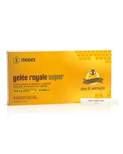 Medex Gelee royale super ampule 1000 mg + vitamin D