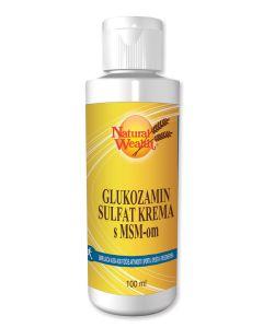 NW Glukozamin sulfat krema s MSM-om 100 ml
