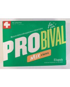 PROBIVAL SYNBIOTIC CAPS A 10(MIX)