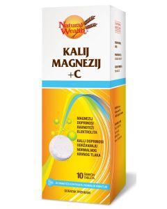 NW Kalij magnezij + C 10 šumećih tableta