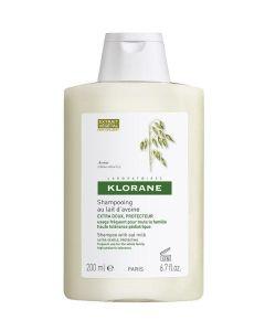 Klorane Šampon sa zobenim mlijekom 200 ml