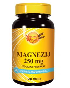 NW Magnezij 250 mg 100 tableta