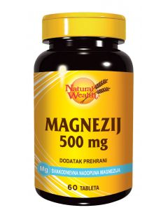NW Magnezij 500 mg 60 tableta