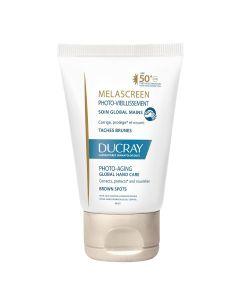 Ducray Melascreen Photo-Aging Global njega zu ruke SPF 50+ 50 ml