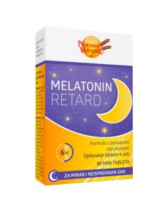 NW Melatonin Retard 30 tableta