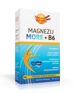 NW Magnezij More + B6 20 kapsula