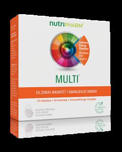 Nutripharm Multi šumeće tablete 20 komada