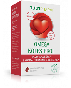 Nutripharm Omega kolesterol 60 kapsula
