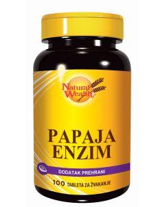 NW Papaja enzim 100 tableta