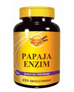 NW Papaja enzim 250 tableta