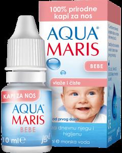 Aqua Maris Bebe, kapi za nos, 10 ml