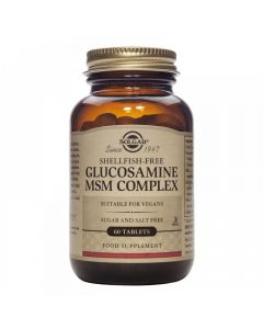 Solgar Biljni glukozamin / MSM kompleks 60 tableta