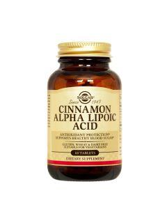 Solgar Diabetes formula: cimet i alfa-lipoična kiselina 60 tableta