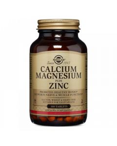 Solgar Kalcij, magnezij plus cink 100 tableta
