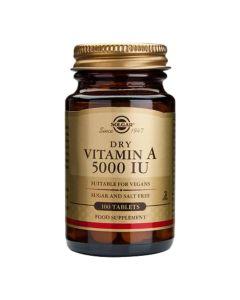Solgar Vitamin A 100 tableta