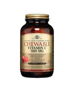 Solgar Vitamin C 500 sa šećerom i sladilom 90 tableta