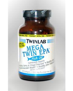 Twinlab Mega Twin EPA 60 kapsula