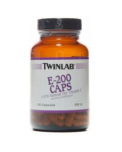Twinlab Vitamin E-200 100 kapsula