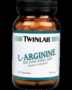 Twinlab L-arginin 500 mg 100 kapsula