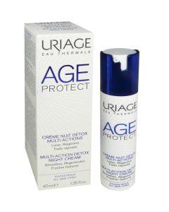 Uriage Age protect Multiaction Detox noćna krema 40ml