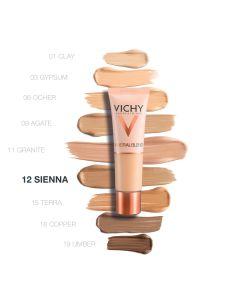 Vichy MINERALBLEND Hidratantni puder za svjež ten sa 16-satnom postojanošću 30 ml - Sienna 12