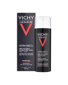 Vichy Homme Hydra Mag C+ Hidratantna njega protiv znakova umora lice + oči 50 ml