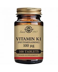 Solgar Vitamin K1 100 tableta
