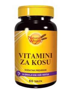 NW Vitamini za kosu 60 tableta