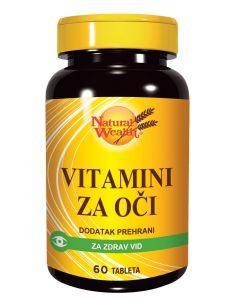 NW Vitamini za oči 60 tableta