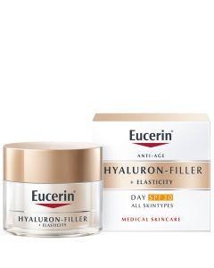 Eucerin Hyaluron-Filler + Elasticity dnevna krema SPF 30 50 ml